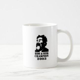 Hide Seek Champ 2003 Mugs