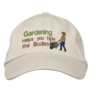 Hide the Bodies Embroidered Hats
