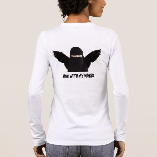 Hide with my wings long sleeve T-Shirt