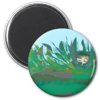 hiding-out 6 cm round magnet
