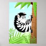 Hiding Zebra Posters