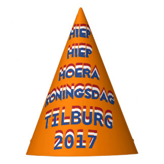 Hiep Hiep Hoera Koningsdag Tilburg 2017 King's Day Party Hat