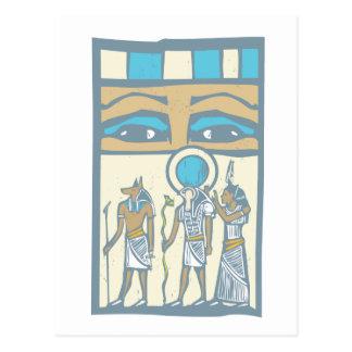 Hieroglyph Eyes Postcards