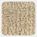 Hieroglyphics Square Sticker