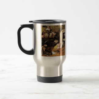 Hieronymus Bosch- Allegory of Gluttony and Lust Stainless Steel Travel Mug