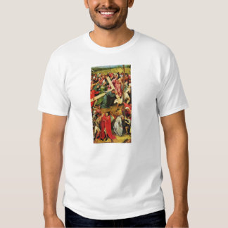 Hieronymus Bosch- Christ Carrying the Cross T-shirts