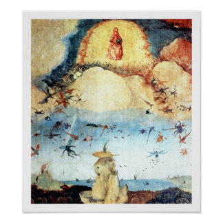 Hieronymus Bosch - Fall of the Rebel Angels Poster