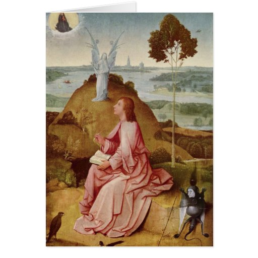Hieronymus Bosch painting art Greeting Card