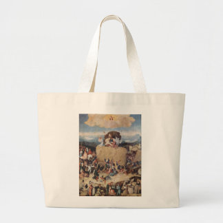 Hieronymus Bosch painting art Large Tote Bag