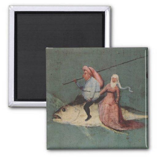 Hieronymus Bosch painting art Fridge Magnets