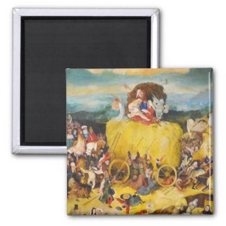 Hieronymus Bosch painting art Magnet