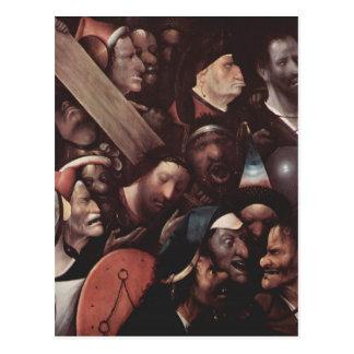 Hieronymus Bosch painting art Postcard