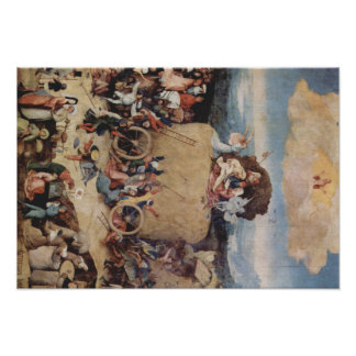 Hieronymus Bosch painting art Poster