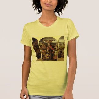 Hieronymus Bosch- St. Liberata Triptych T-shirts