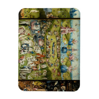 Hieronymus Bosch - The Garden of Earthly Delights Flexible Magnets