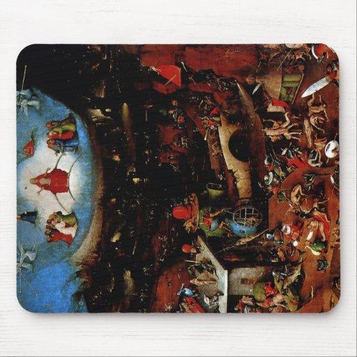 Hieronymus Bosch The Last Judgement Mousepad