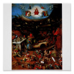 Hieronymus Bosch The Last Judgement Poster