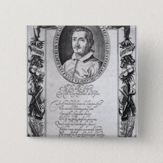 Hieronymus Frescobaldi, engraved by Christian 15 Cm Square Badge
