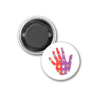 HiFi High5 HighFIVE HAND des cadeaux pour tous Fridge Magnet