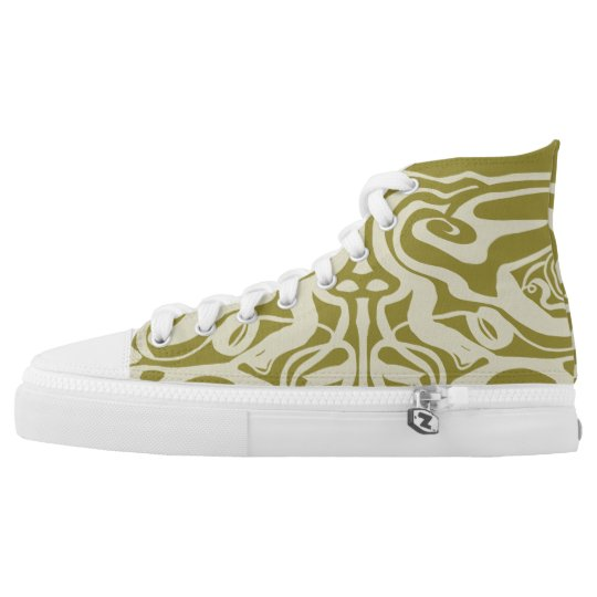 Hig Tops all over print shoe