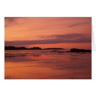 Higgins Beach Sunrise Card