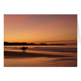 Higgins Beach Surfing Date Card