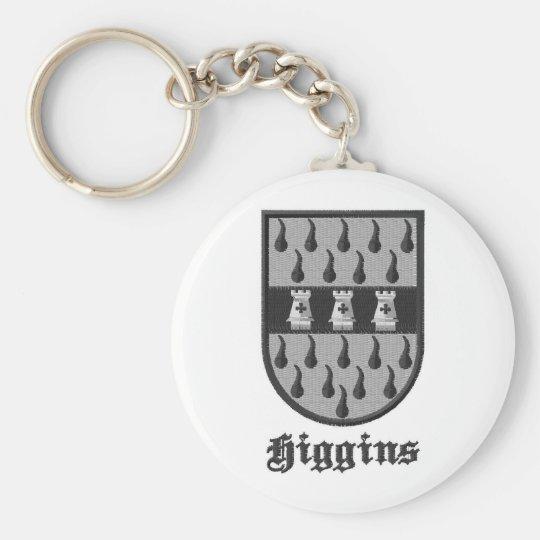 Higgins Irish Clan key chain