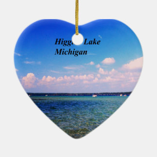 Higgins Lake Michigan Christmas Ornament