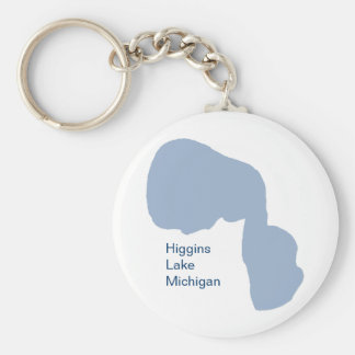 Higgins Lake, Michigan Key Chain