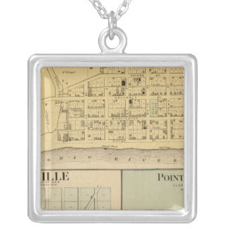 Higginsport, Ohio Silver Plated Necklace