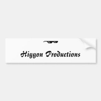 Higgon Productions Bumper Sticker