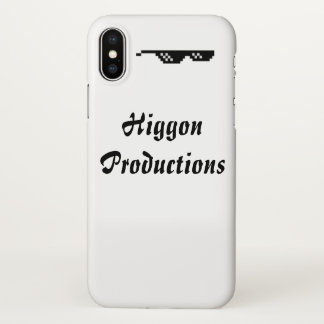 Higgon Productions iPhone X Glossy Case