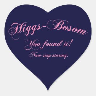 Higgs - Bosom Heart Sticker