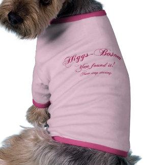 Higgs - Bosom Ringer Dog Shirt