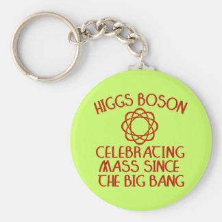 Higgs Boson Celebrating Mass Since the Big Bang Keychain