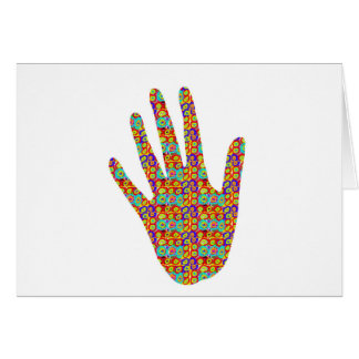 HIGH5 Highfive Hand Party Giveaway GIFTS Bless Greeting Card