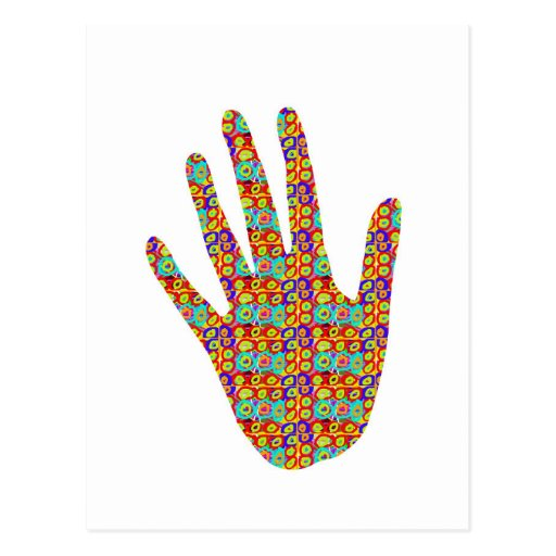 HIGH5 Highfive Hand Party Giveaway GIFTS Bless Post Card