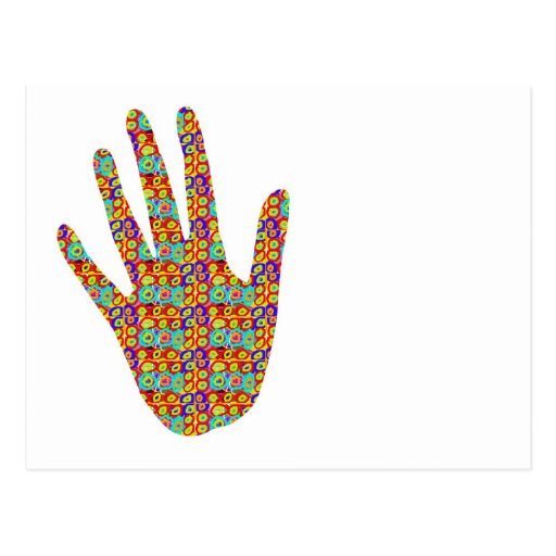 HIGH5 Highfive Hand Party Giveaway GIFTS Bless Post Cards