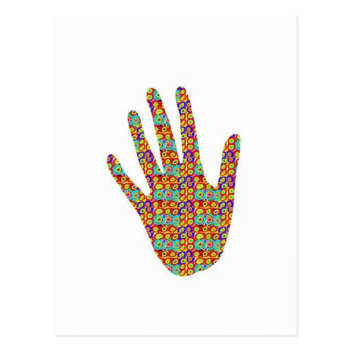 HIGH5 Highfive Hand Tree Bird Party Giveaway GIFTS Post Card