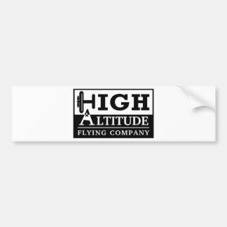 High Altitude Flying Company Logo Bumper Sticker
