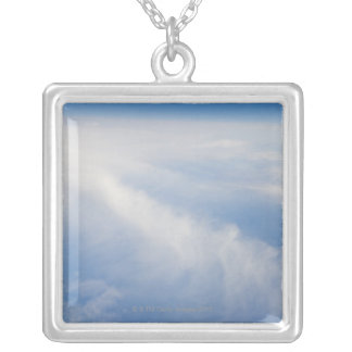 High altitude photo of Earth 2 Silver Plated Necklace