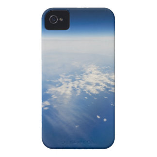 High altitude photo of Earth iPhone 4 Case
