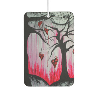 High and Dry Heart Trees Art Air Freshener