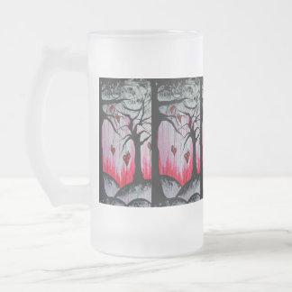 High and Dry Heart Trees Orig Art 16oz Beer Mug
