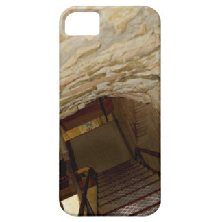 High angle view of a staircase, La Rognosa, San Barely There iPhone 5 Case