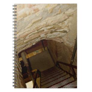 High angle view of a staircase, La Rognosa, San Notebook