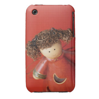 High angle view of an angel figurine iPhone 3 Case-Mate cases