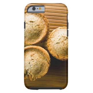 High angle view of muffins tough iPhone 6 case
