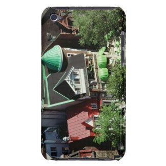 High angle view of neighborhood, Canada iPod Touch Covers