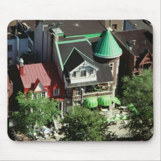 High angle view of neighborhood, Canada Mouse Pad